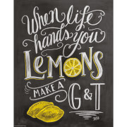 Lily & Val When Life Hands You Lemons Print
