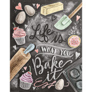 Lily & Val Life Is What You Bake It Print