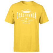 Camiseta Native Shore California - Hombre - Amarillo