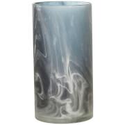 Bloomingville Glass Vase - Blue