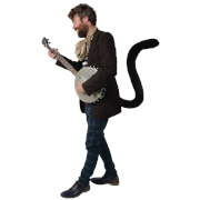 TellTails Wearable Black Cat Tail for Adults