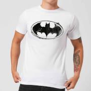 T-Shirt Homme Batman DC Comics - Croquis Logo - Blanc