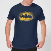 DC Comics Batman Spray Logo T-Shirt in Navy