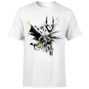 T-Shirt Homme Batman DC Comics - Batface Splash - Blanc