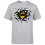 DC Comics Batman Bat Swirl T-Shirt - Grey