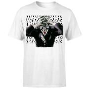 DC Comics Batman Killing Joker HaHaHa T-Shirt - White