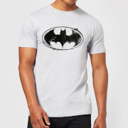 DC Comics Batman Sketch Logo T-shirt - Grijs