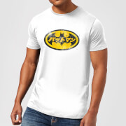 DC Comics Batman Japanese Logo T-Shirt in White