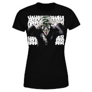 DC Comics Batman Killing Joker HaHaHa Dames T-shirt - Zwart