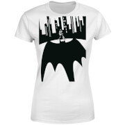 Camiseta DC Comics Batman Bat Sombra - Mujer - Blanco