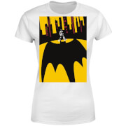 DC Comics Batman Bat Shadow Dames T-shirt - Wit
