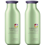 Pureology Clean Volume Colour Care Shampoo Duo 250ml