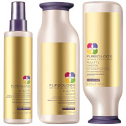 Pureology Fullfyl Colour Care Shampoo, Conditioner and Densify Spray Trio