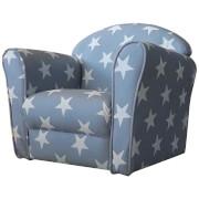 Kidsaw Mini Armchair Blue White stars