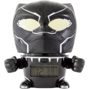 BulbBotz Marvel Avengers: Infinity War Black Panther Night Light Alarm Clock