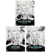 BARBER PRO Facial Mask Trio (Worth £14.85)