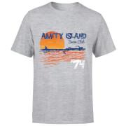 Jaws Amity Swim Club T-Shirt - Grey