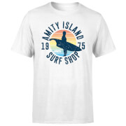 Jaws Amity Surf Shop T-Shirt - White
