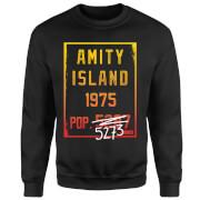 Jaws Amity Population Sweatshirt - Black