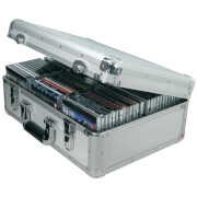 Citronic Aluminium CD Flight Case - Silver