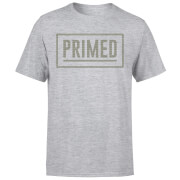 Camiseta Primed Logo Rectángulo - Hombre - Gris