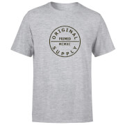 Camiseta Primed Label MCMXC - Hombre - Gris