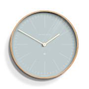Newgate Mr. Clarke Wall Clock - Pill Blue
