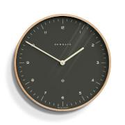 Newgate Mr. Clarke Wall Clock - Oil Grey