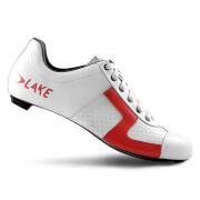 Lake CX1 Carbon Road Shoes - White/Red - EU 42/UK 8 - White/Red