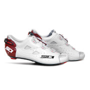 Image of Sidi Shot Carbon Limited Edition Cycling Shoes - Katusha - White/Dark Red - EU 46/UK 10 - White/Red