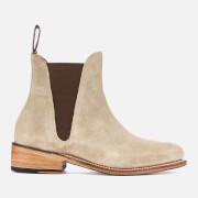 Grenson Women's Nora Suede Chelsea Boots - Maple - UK 3 - Beige