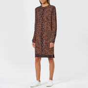 PS by Paul Smith Women's Cable Knitted Dress - Black - L - Black