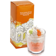 Bomb Cosmetics Peach Bellini Piped Candle