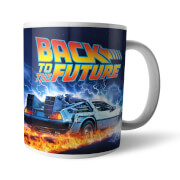 Taza Regreso al futuro Great Scott