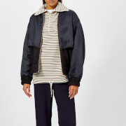 See By Chloé Women's Bomber Jacket - Black - Blue 1 - FR 36/UK 8 - Black