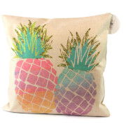 Black Ginger Pineapple Cushion