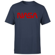 NASA Worm Logotype T-shirt - Navy
