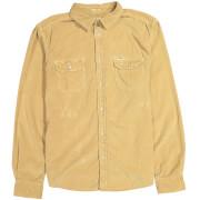 Wrangler Men's 2 Pocket Micro Cord Shirt - Clay Beige - S - Beige