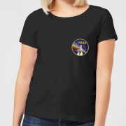 NASA Vintage Rainbow Shuttle Women's T-Shirt - Black