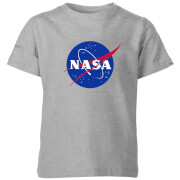 NASA Logo Insignia Kids' T-Shirt - Grey