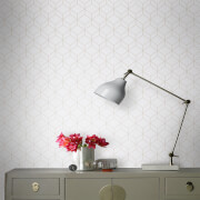 Superfresco Easy Pale Grey/Grey Geometric Myrtle Wallpaper