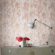 Boutique Copper Industrial Texture Wallpaper