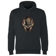 Black Panther Gold Eril Killmonger Hoodie - Black