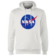NASA Logo Insignia Hoodie - Weiß