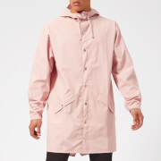RAINS Long Jacket - Rose - M/L - Pink
