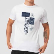 Camiseta Star Wars The Resistance - Hombre - Blanco - S - Blanco