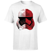 Star Wars Cubist Trooper Helmet Weiß T-Shirt - Weiß