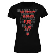 Star Wars Dark Side Echo Black Women's T-Shirt - Black