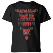 Star Wars Dark Side Echo Black Kids' T-Shirt - Black