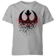 Star Wars Shattered Emblem Kids' T-Shirt - Grey
